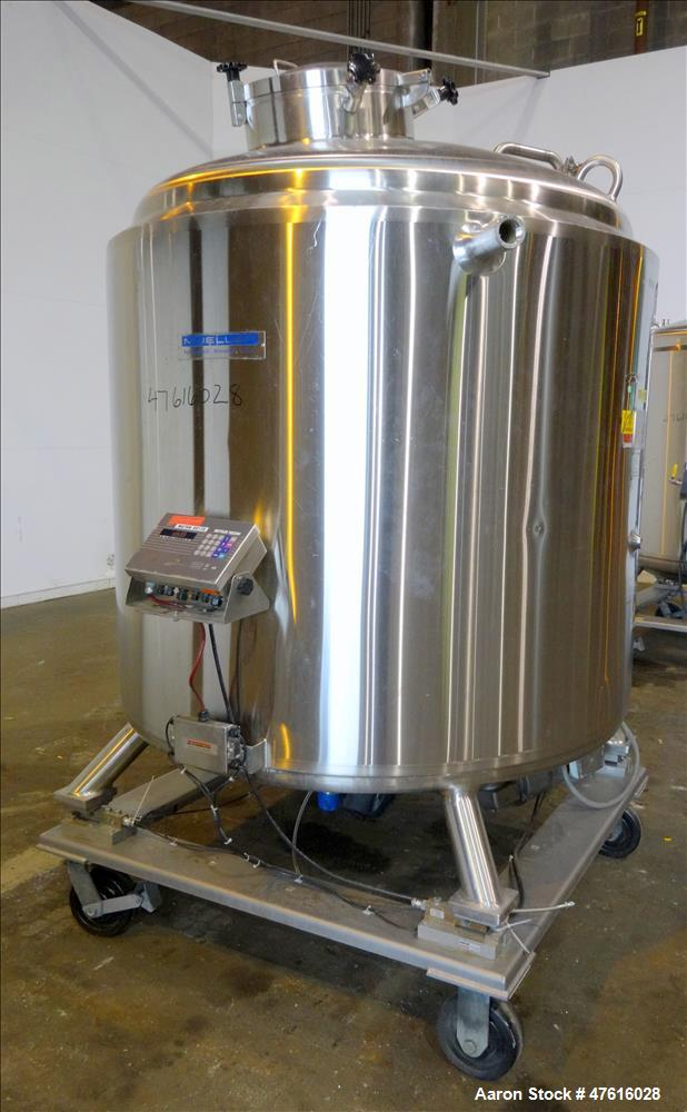 Used- Mueller Reactor, Model F, 2000 Liter (528 Gallons), 316L Stainless Steel,