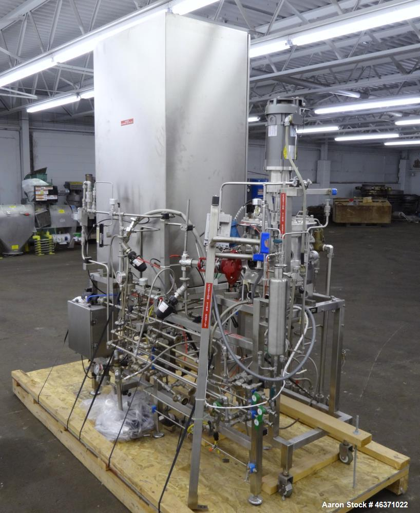 Used- Mueller Reactor, 5 Gallons, 316L Stainless Steel, Vertical.