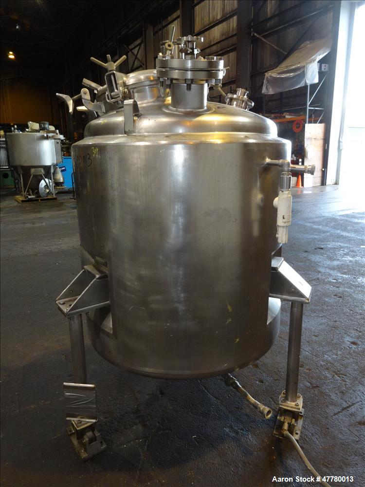 Used- Mueller Reactor, 700 Liter (184 Gallon), 316 Stainless Steel, Vertical