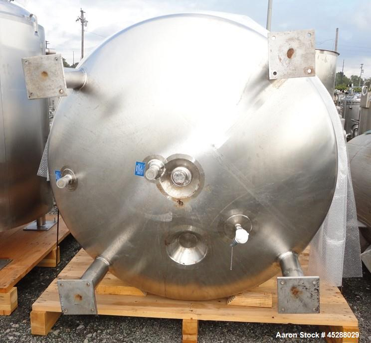 "Used- 4000 Liter Mueller Jacketed Receiver, Model 4000 ""F"""