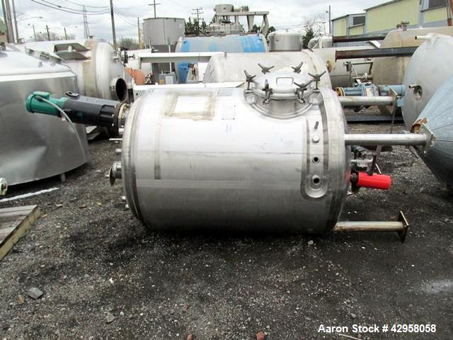 "Used- Northland Stainless Reactor, 500 Gallon. Stainless steel construction, approximately 48"" diameter x 60"" straight side,..."