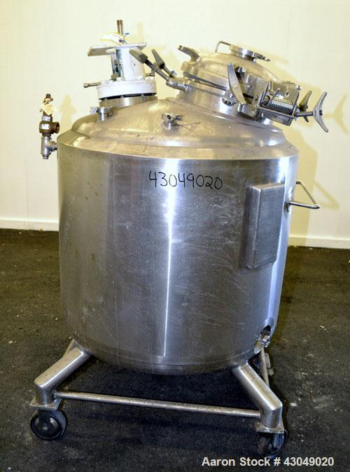 Used-  600 Liter Stainless Steel Northland Stainless Reactor