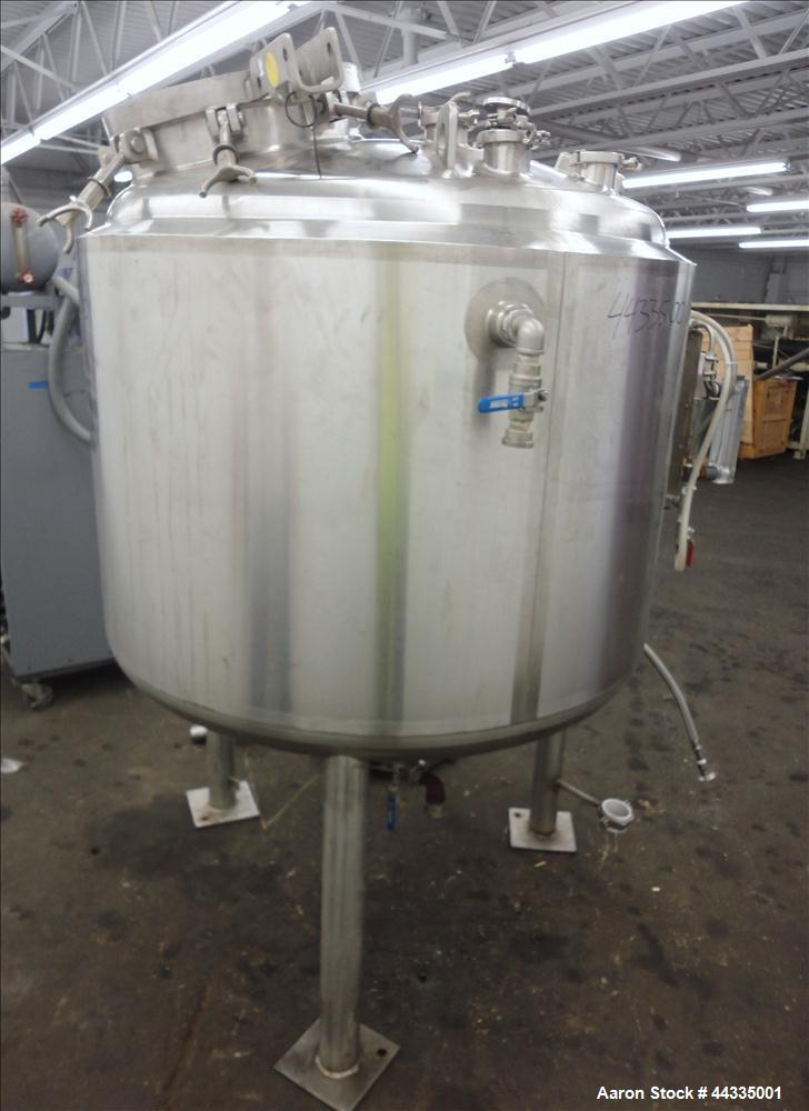 Used- 270 Gallon Stainless Steel Northland Stainless Reactor, Model WM450-36-WC-