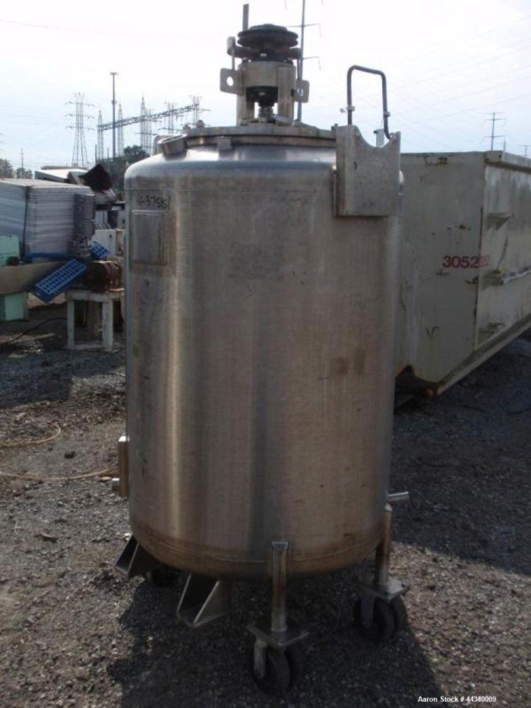 Used- 175 Gallon Stainless Steel Northland Stainless Reactor