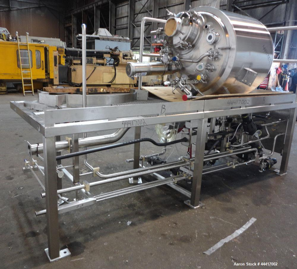 """Unused- Northland Stainless Reactor, 750 Liter (198 Gallon), 316 L Stainless Steel, Vertical. 40"""" Diameter x 33"""" straight si..."""