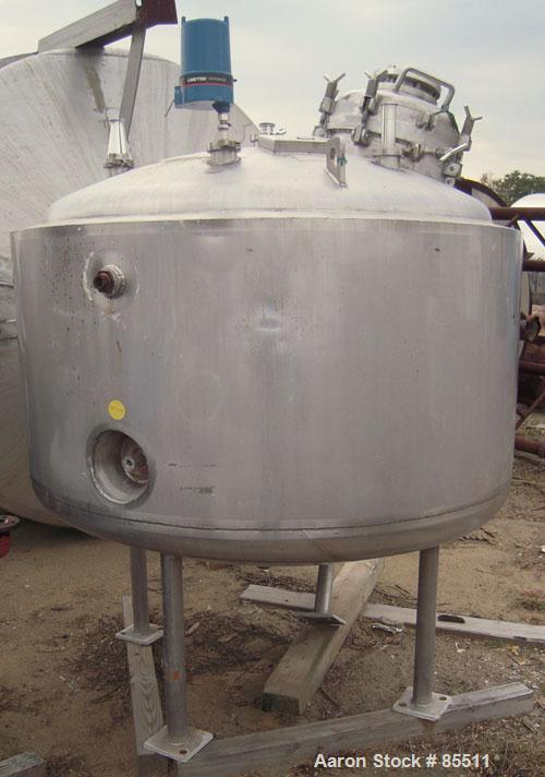 Used- 300 Gallon Stainless Steel Northland Stainless Reactor