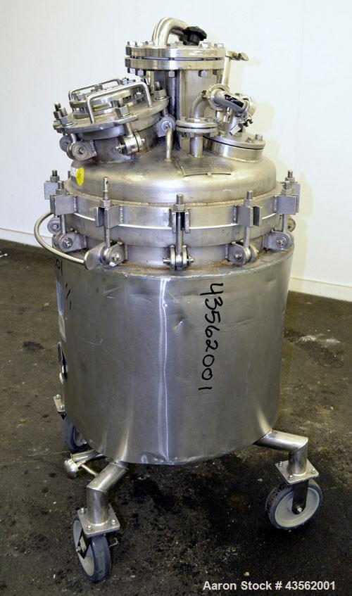 Used- 40 Gallon Stainless Steel Overly Reactor