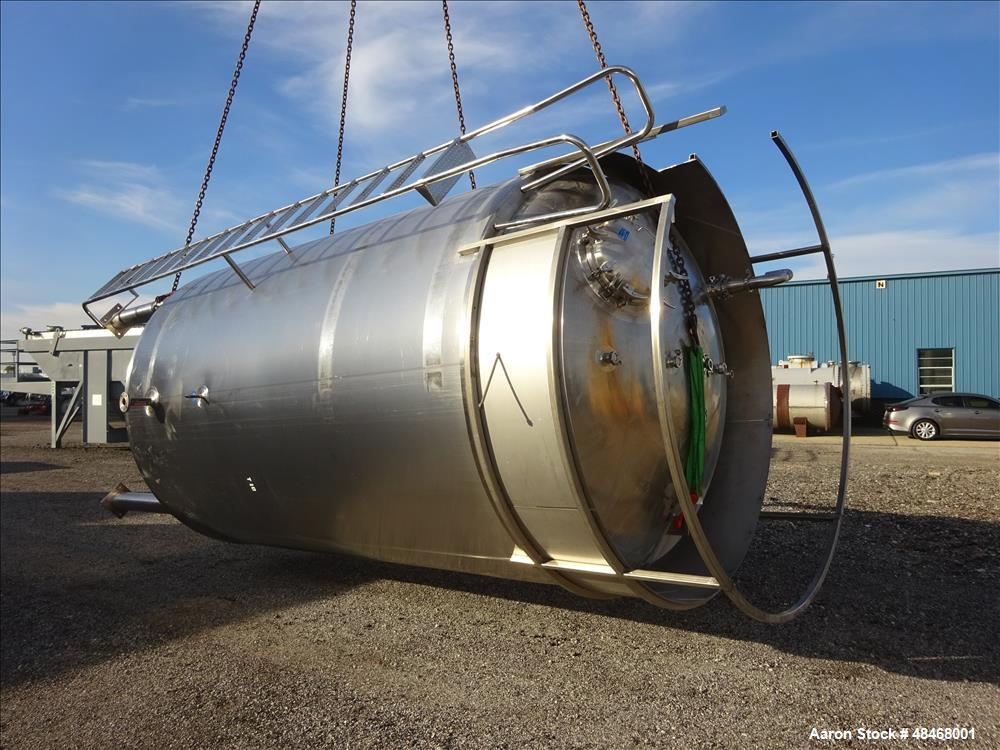 Used- Mueller Reactor, 5,284 Gallon To Top Tangent Line, Model F