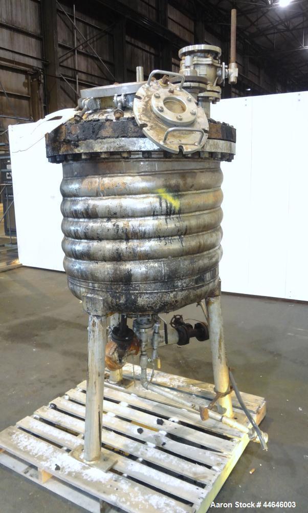 Used- 100 Gallon Stainless Steel Mueller Reactor