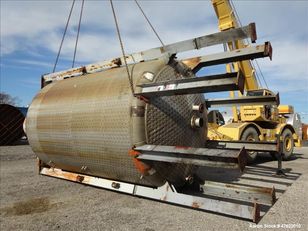 Used- Perry Products Reactor, Model 10000D.J.R., 10,000 Gallon