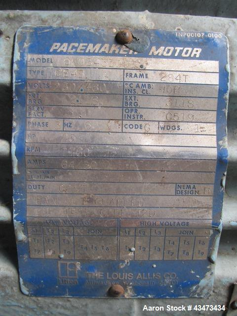"""Used- Pfaudler Reactor, 2000 Gallon, 316L Stainless Steel. Approximately 78"""" diameter x 90"""" straight side, dish top and bott..."""