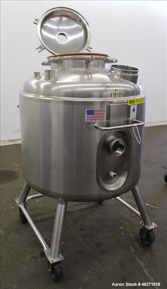 Used- Precision Stainless Reactor, 105 Gallon.