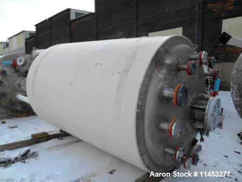 "Used- 1500 Gallon Precision Stainless Reactor. 316 stainless steel construction, approximately 66"" diameter x 108"" straight ..."