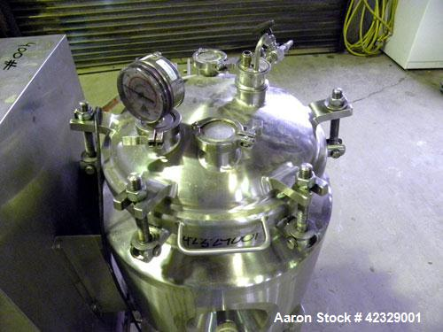 Used- 60 Liter Stainless Steel Precision Stainless Reactor