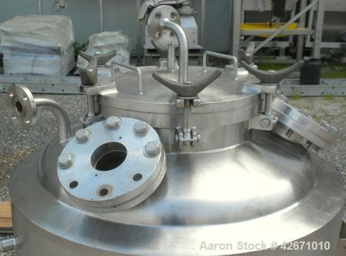 Used- 300 Liter Stainless Steel Precision Stainless Reactor