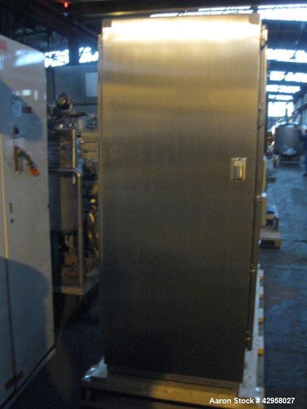 Used- 1500 Liter Stainless Steel Precision Stainless Fermentor System