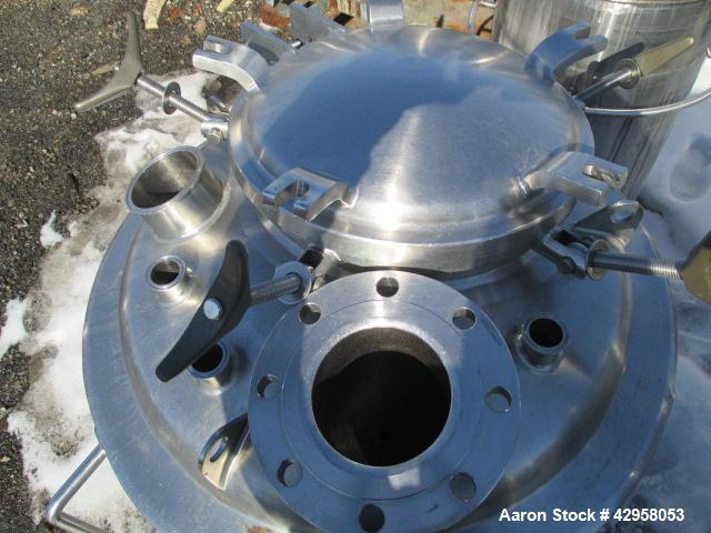Used- 250 Liter Stainless Steel Precision Reactor