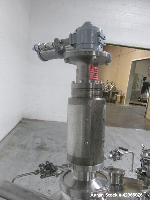 "Used- Precision Stainless Reactor, 200 Liter (52.8 Gallon). 316L Stainless steel construction, approximately 28"" diameter x ..."