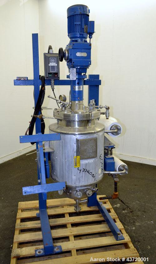 Used- 13.2 Gallon Stainless Steel Precision Stainless Reactor
