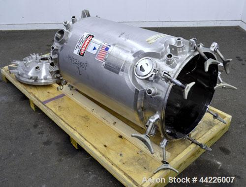 Used- 300 Liter Stainless Steel Precision Stainless Reactor,