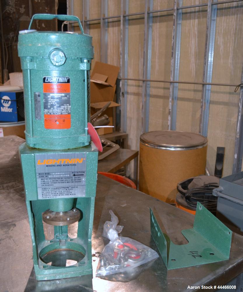 """Used- Precision Stainless Reactor, 175 Liter (46 Gallon), 316L Stainless Steel, Vertical. 24"""" Diameter x 30"""" straight side, ..."""