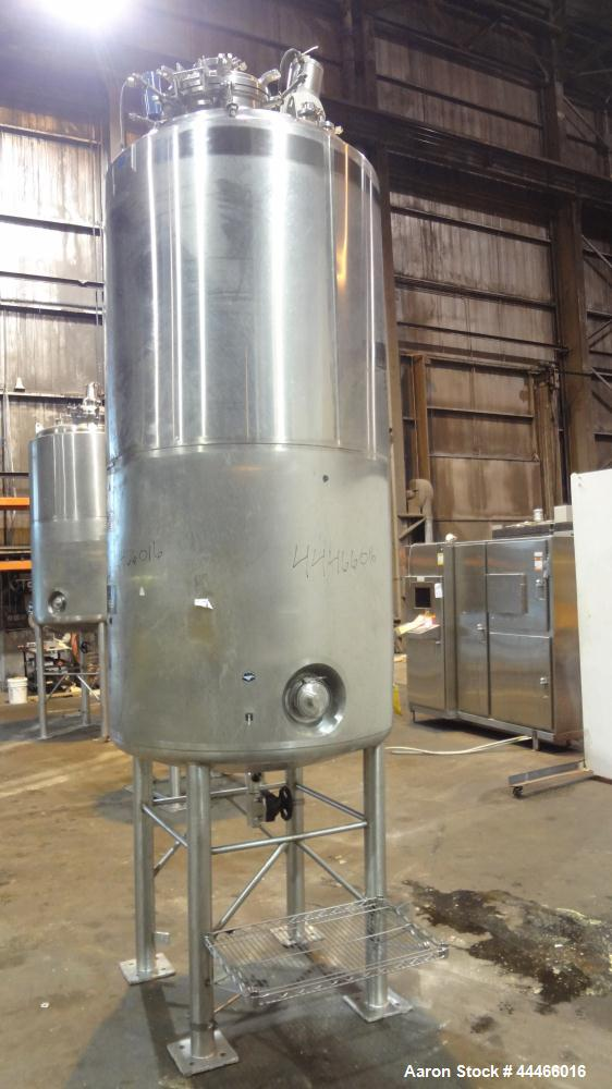 Used- 1250 Liter Stainless Steel Precision Stainless Reactor