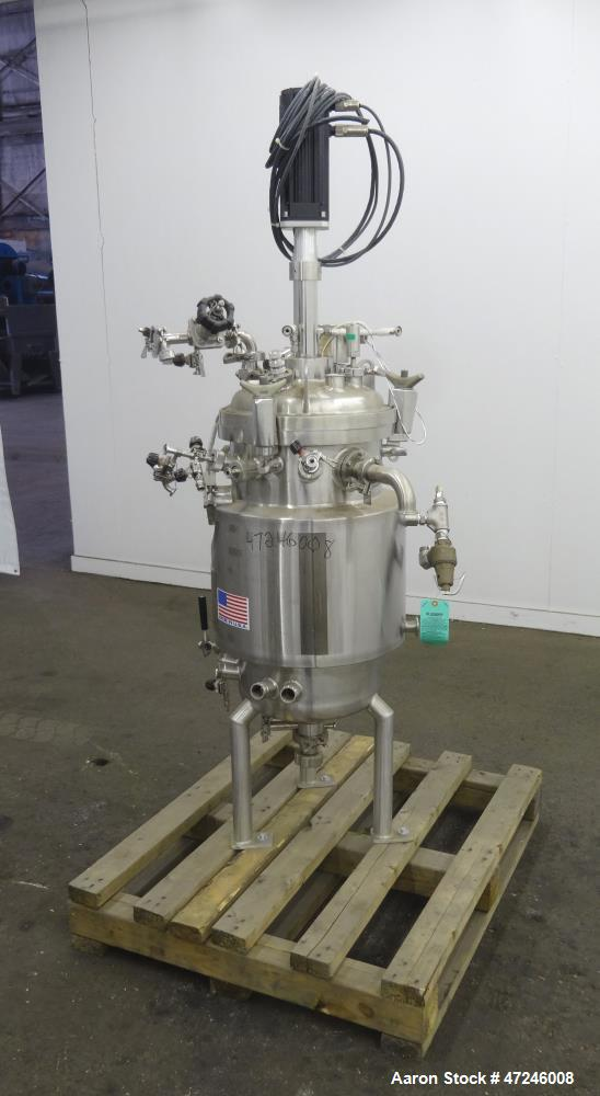 Used- Precision Stainless Reactor Vessel, 75 Liter (19.8 gallons), 316L Stainles