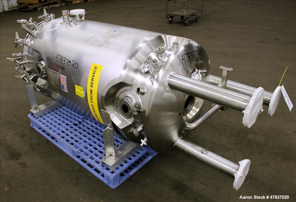 Used- Precision Stainless Reactor, 132 Gallon.
