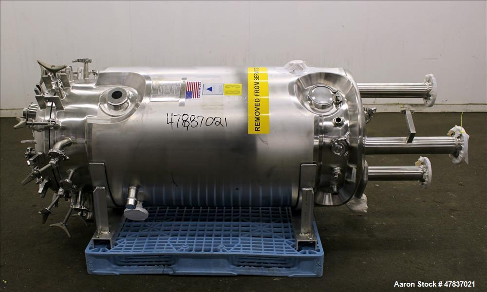 Used- Precision Stainless 500 Liter Reactor