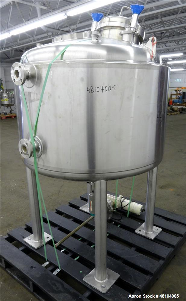 Used- Precision Stainless Reactor, 158.5 Gallons, 316L Stainless Steel