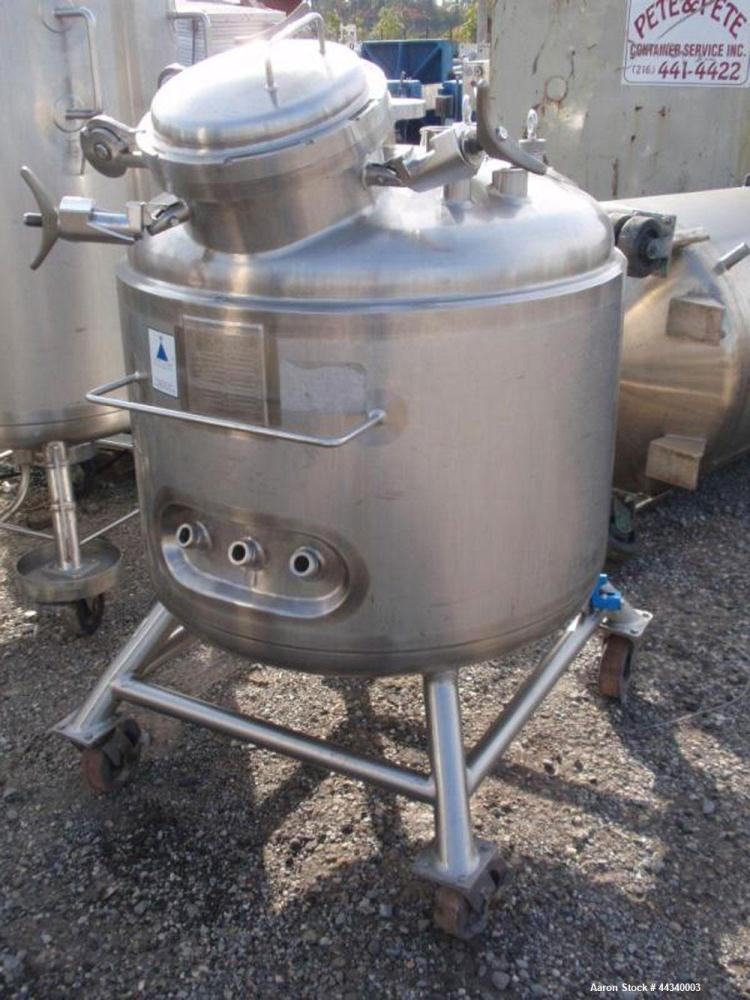 Used- 90 Gallon Stainless Steel Precision Stainless Reactor