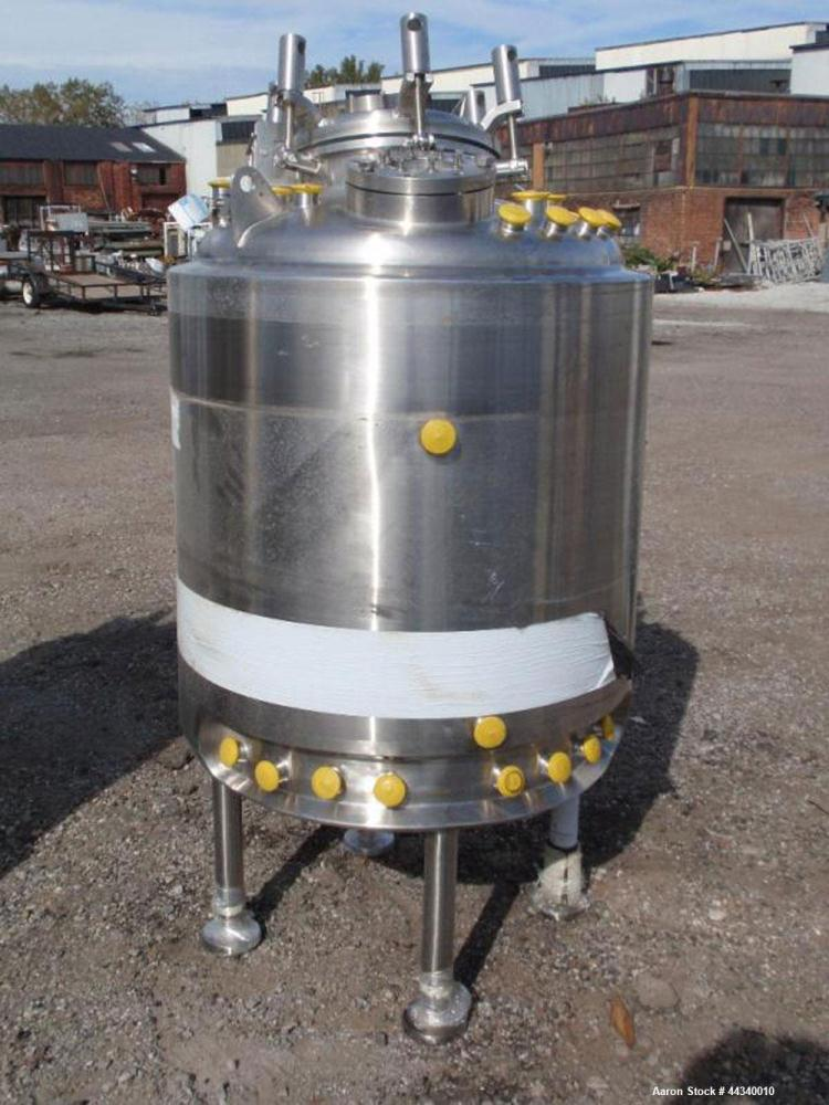 Used- 145 Gallon Stainless Steel Precision Stainless Reactor