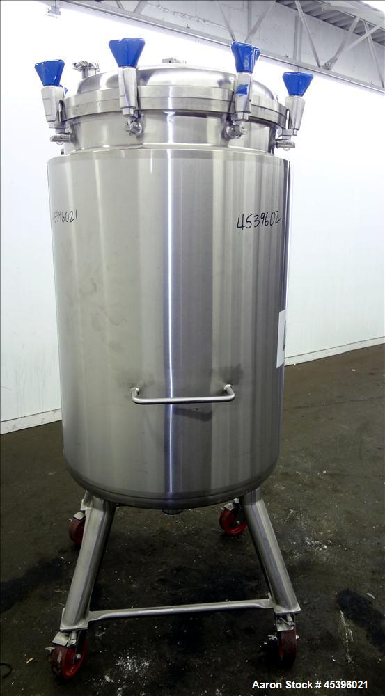 Used- 500 Liter Stainless Steel Precision Stainless Reactor