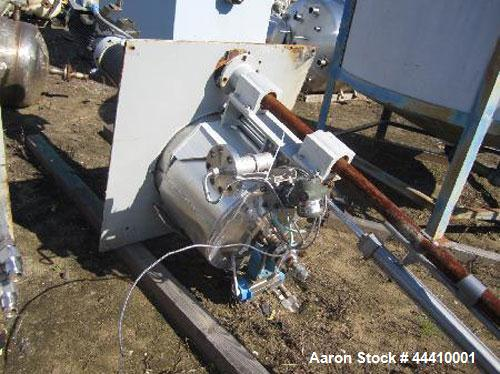 Used- 11 Gallon Stainless Steel Pressure Products Industries Reactor