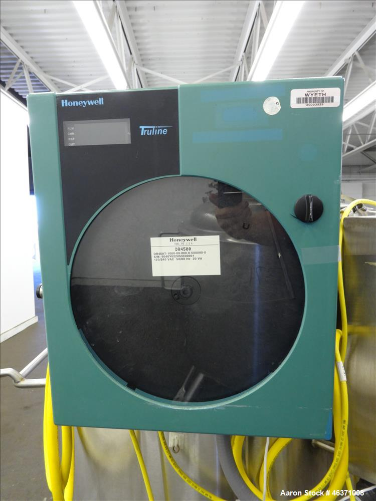 "Used- Pure-Flo Precision Reactor, 250 Liter (66 Gallon), 316L Stainless Steel, Vertical. 26"" Diameter x 30"" straight side, d..."