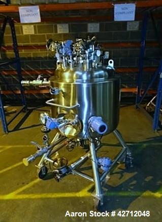 Used- 150 Liter Stainless Steel Pure Flo Precision Reactor
