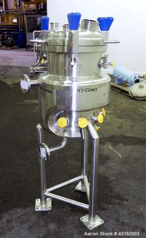 Used- 30 Liter Stainless Steel PureFlo Precision Reactor