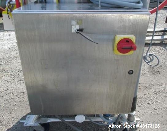 "Used- Pure Flow Precision reactor, 300 liter, 316L stainless steel construction, approximately 27"" diameter x 34"" straight s..."