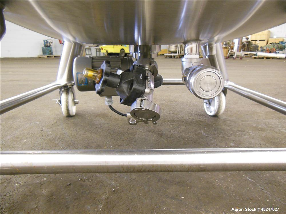 Used- 450 Liter Stainless Steel Pure-Flo Precision Reactor