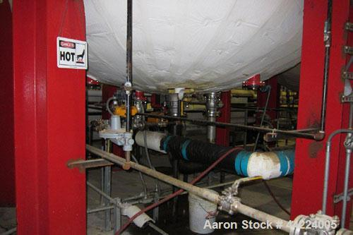 """Used- Reco Industries Reactor,  Approximately 11,000 gallons, 304 stainless steel clad, vertical.  132"""" Diameter x 166"""" stra..."""