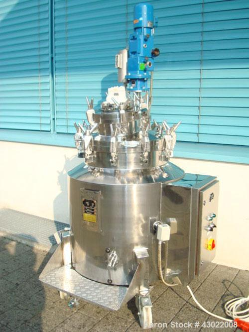 Used-Seitz DB 160 DFWI Pressure Tank with Integrated Mixer.  Volume 51.1 gallons (195 liters), maximum pressure 43 psi (3 ba...