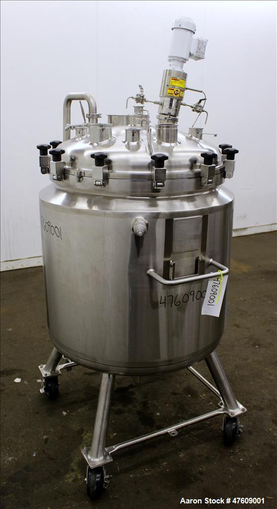 Used- Stainless Fabrication Reactor, 260 Liter (68.68 Gallon)