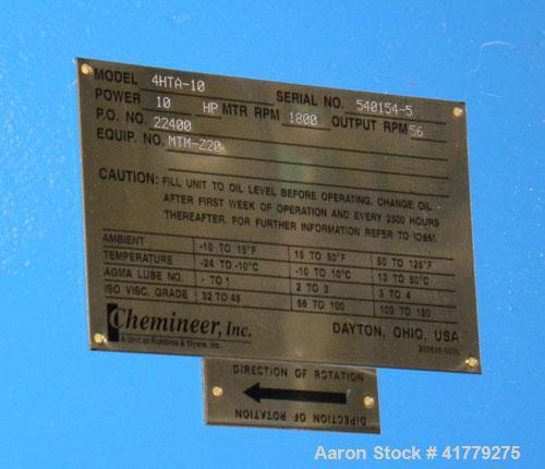 """Used-Taylor TankReactor, 1200 Gallon,304 Stainless Steel, Vertical.72"""" x 60"""" straight side, dished top and bottom. Inter..."""