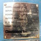 Used- Allegheny Bradford Fermenter, 150 Liter (39.63 Gallon), 316L Stainless Steel, Vertical.  16