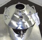 Used- Apache Stainless Reactor 20 Liters (5.2 Gallons), 316L Stainless Steel, Vertical. Approximately 12