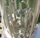 Used- B Braun Biostate E Compact Lab Fermenter, 2.6 Gallon, Type 880263/7. Borosilicate glass vessel, approximate 8