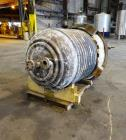 Used- Brighton Reactor, 250 Gallon, 316L Stainless Steel. Approximate 42