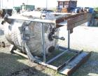 Used- Central Fabricators Reactor, 600 Gallon, 304 Stainless Steel, Vertical. 54