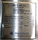Used- Cherry Burrell Reactor, 136 gallon, 316L stainless steel, vertical. 32