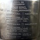 Used- 800 Liter Stainless Steel DCI Reactor